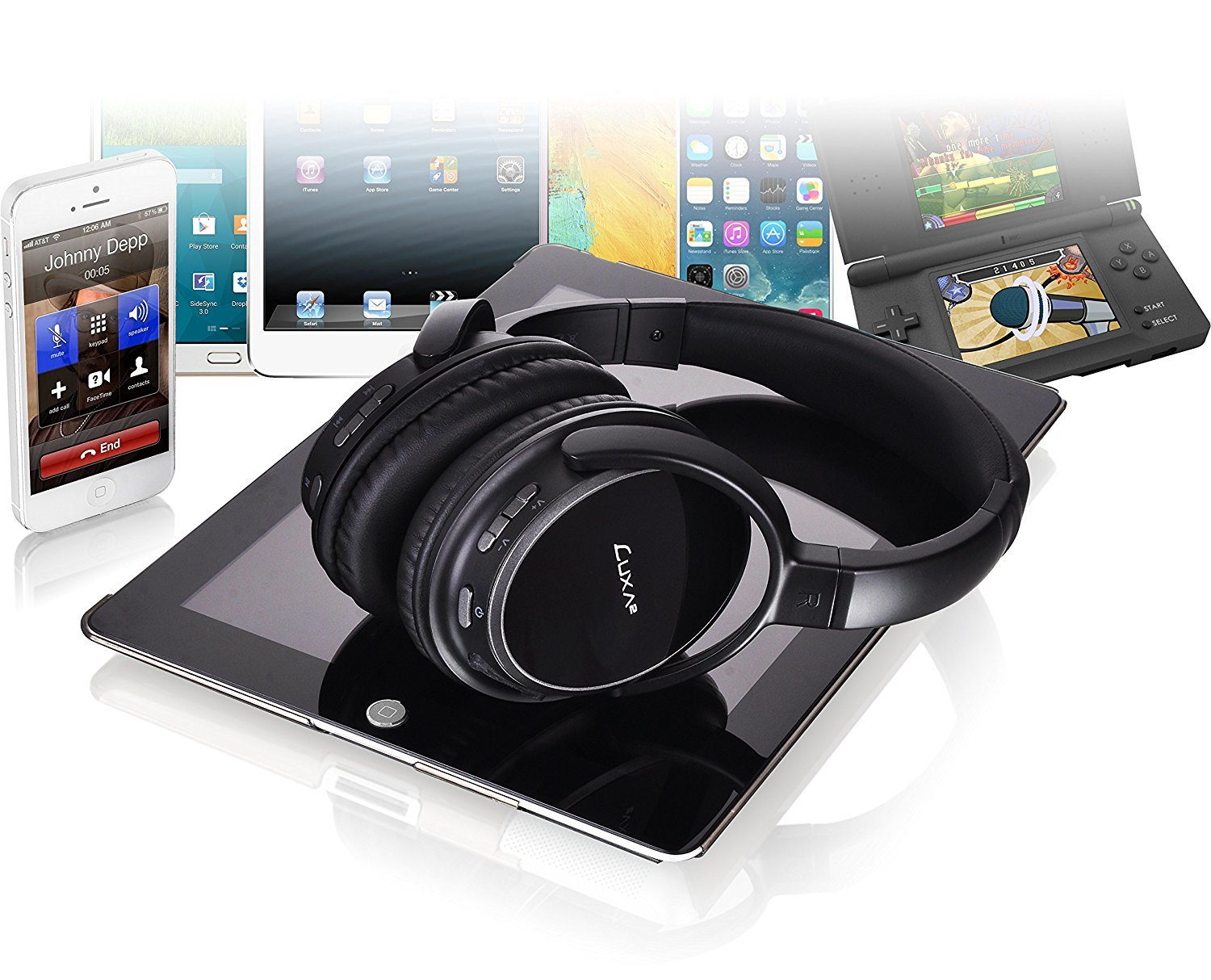 LUXA2 by Thermaltake Lavi D Over-Ear Wireless Headphones image