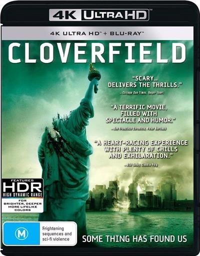 Cloverfield (4K Blu-ray + Blu-ray) on UHD Blu-ray