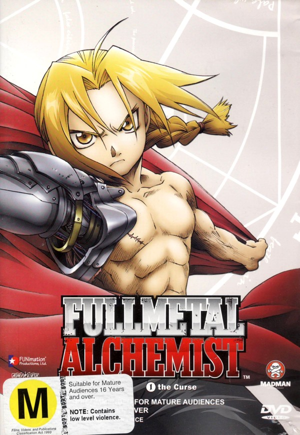 Fullmetal Alchemist Vol 01 - The Curse on DVD image