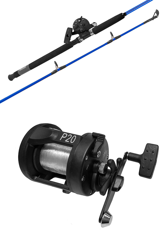 Fishtech 6ft Boat combo with Overhead reel