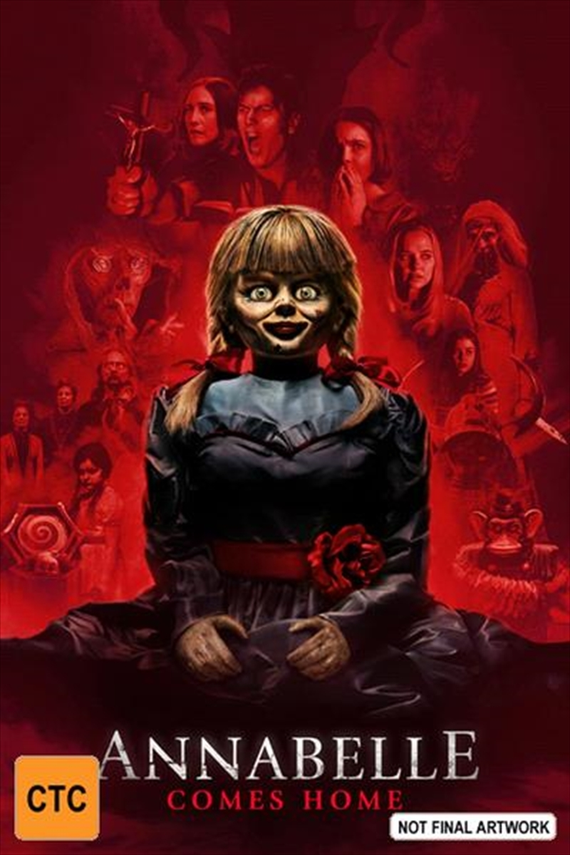 Annabelle Comes Home on DVD image
