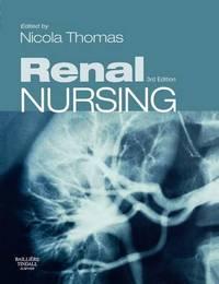 Renal Nursing by Nicola Thomas image