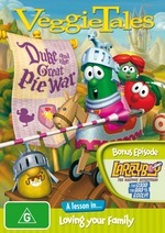 VeggieTales - Duke And The Great Pie War on DVD
