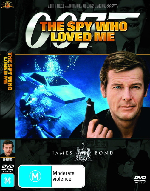 James Bond - The Spy Who Loved Me on DVD