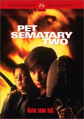 Pet Sematary 2 on DVD