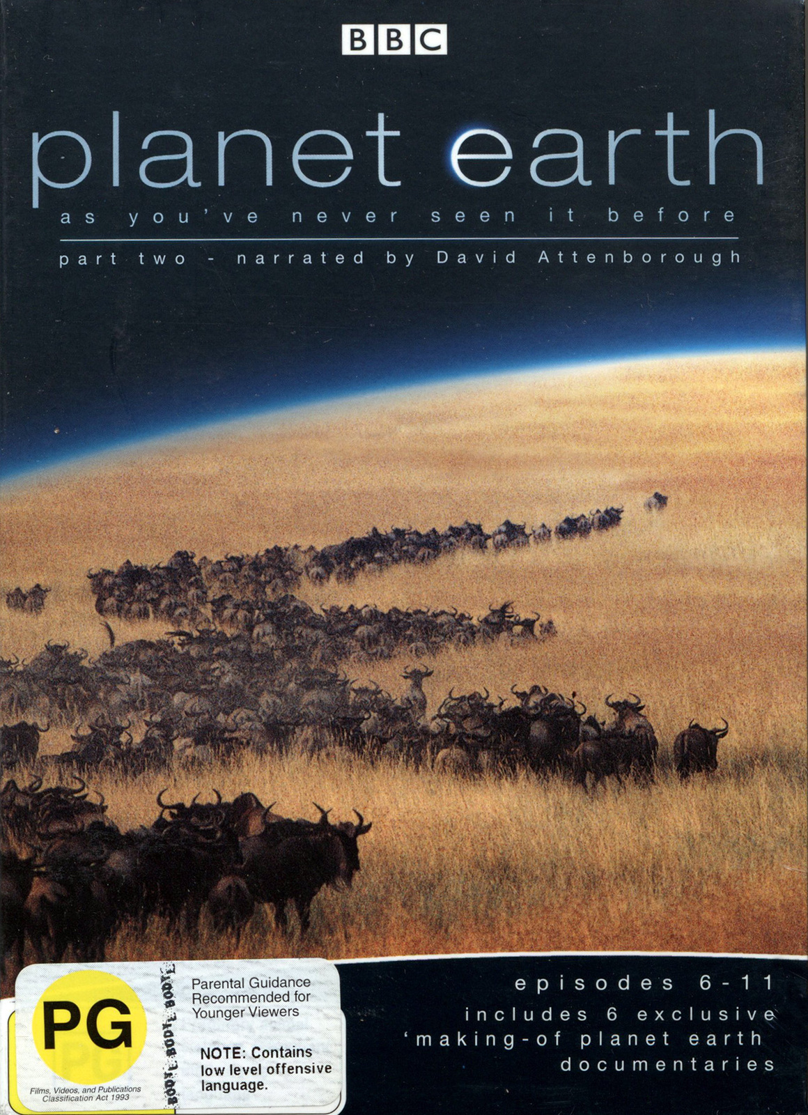 Planet Earth - Episodes 6-11 (Part 2) on DVD image