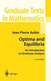 Optima and Equilibria by Jean-Pierre Aubin