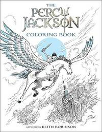 The Percy Jackson Coloring Book by Rick Riordan