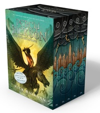Percy Jackson and the Olympians Boxed Set (All 5 Books + Poster) by Rick Riordan