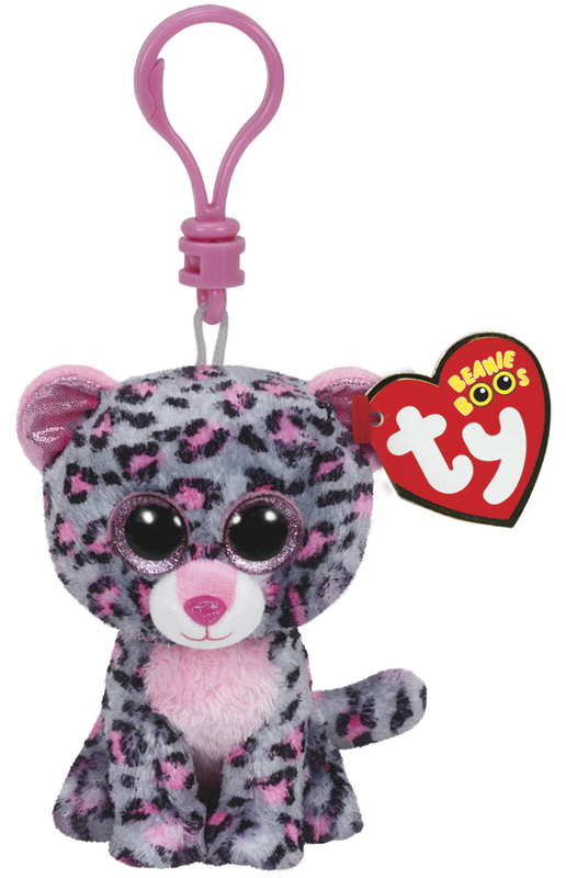 Ty Beanie Boos: Tasha Leopard - Clip On Plush