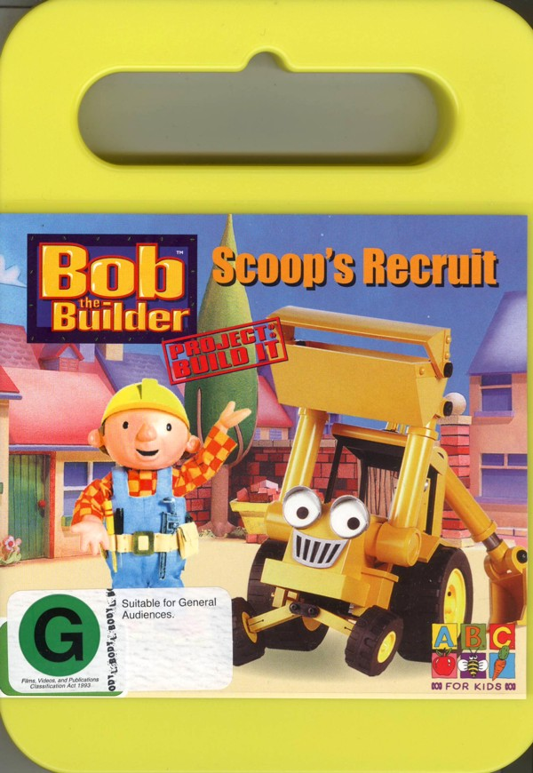 Bob The Builder - Project: Build It - Scoop's Recruit on DVD image