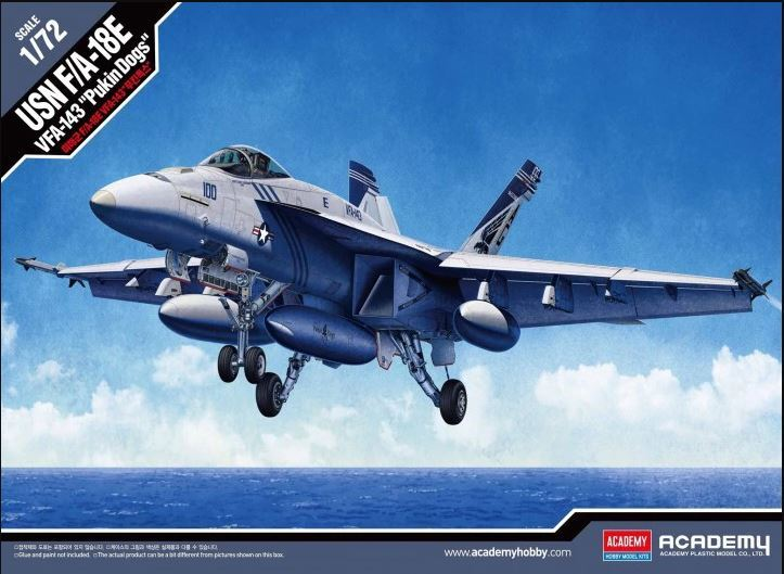 Academy 1/72 USN F/A-18 Pukin Dogs - Scale Model image