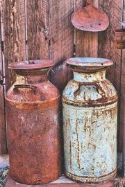 Milk Bottles from the Farm Journal by Americana Essentials