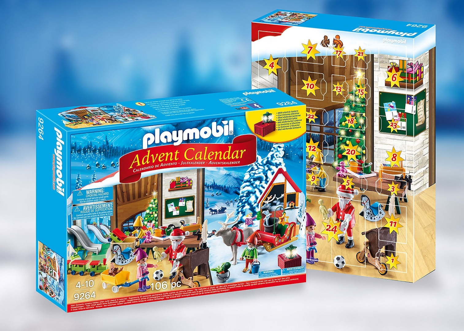 Playmobil: Advent Calendar - Santas Workshop image