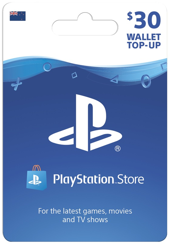 PlayStation Store $30 Wallet Top-Up (Digital Code) for