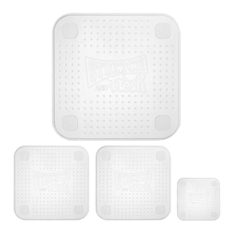 Ape Basics: Reusable Silicone Food Wraps (Set of 4) image