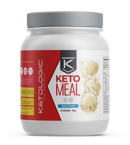 Ketologic: Keto Meal - Vanilla (880g - 40 Serves)