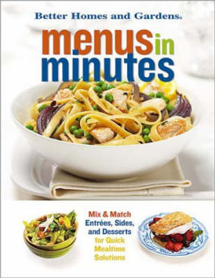 Menus in Minutes by Better Homes & Gardens image