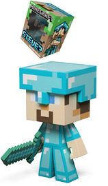 "Minecraft 6"" Vinyl Figure - Steve Diamond Edition"