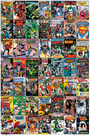 DC Comics Covers Wall Poster (110)