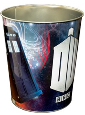 Doctor Who: Flying TARDIS Metal Bin