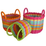 Woven Storage Baskets (Raised Handles)
