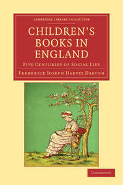 Cambridge Library Collection - Literary Studies by Frederick Joseph Harvey Darton