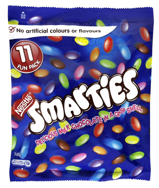Smarties Fun Pack (140g)