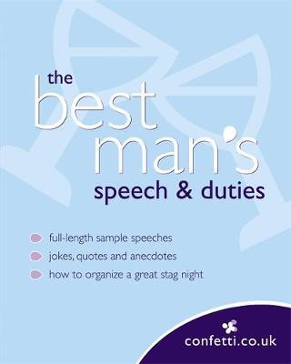The Best Man's Speech and Duties