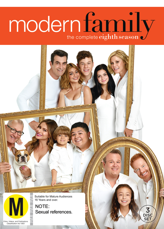 Modern Family - Season 8 on DVD