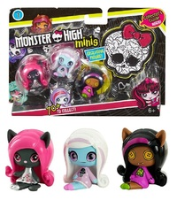 Monster High - Mini-Figures 3-Pack (Assorted Designs)