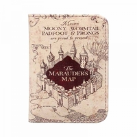 Harry Potter Marauders Map Card Holder