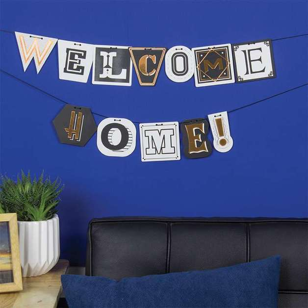 Personalized Typography Bunting