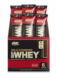 Optimum Nutrition: Gold Standard 100% Whey Stick Packs - Double Rich Chocolate (6x30.4g)