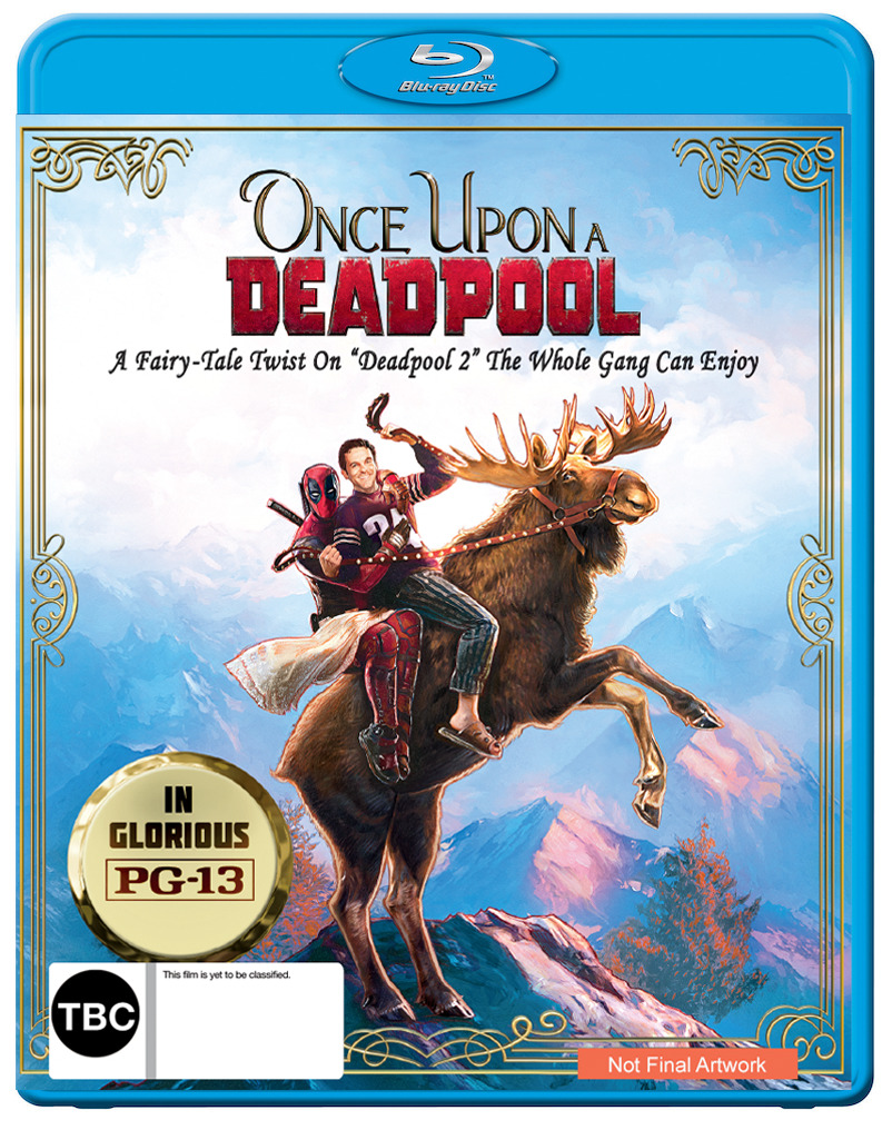 Once Upon A Deadpool on Blu-ray image