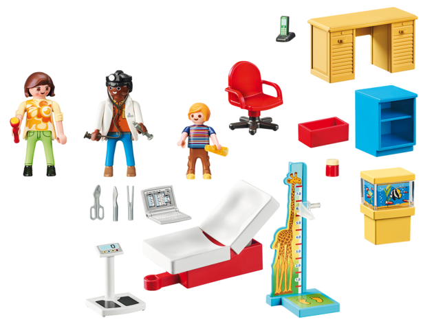 Playmobil: Starter Pack - Pediatrician's Office (70034)
