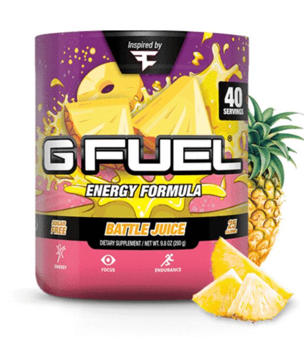 G FUEL Energy Formula - FaZe Clan's Battle Juice (40 Servings)