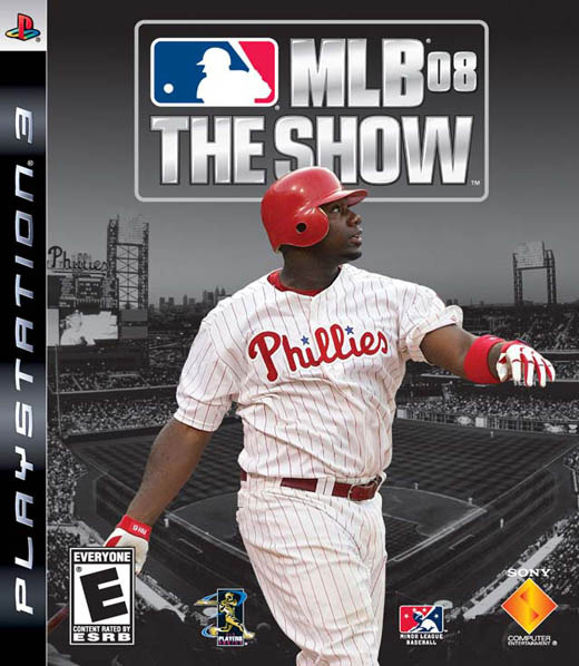 MLB '08 The Show for PS3