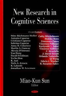 New Research in Cognitive Sciences