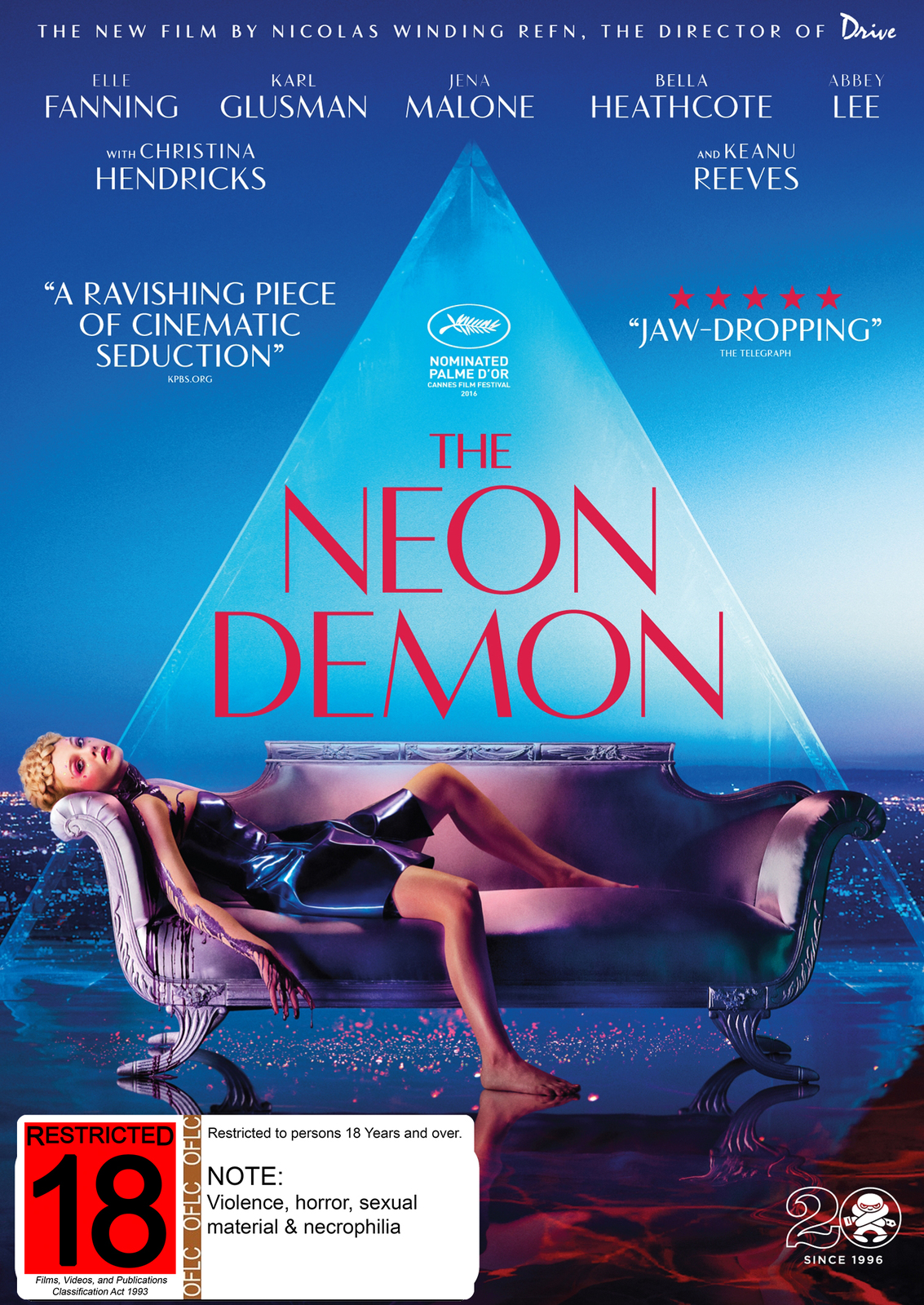 The Neon Demon on DVD image