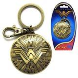 DC Comics: Wonder Woman Shield - Pewter Key Chain
