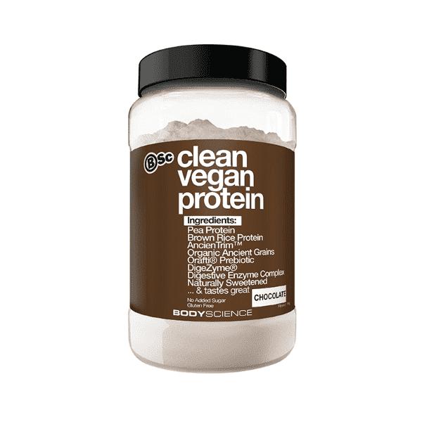 BSC Clean Vegan Protein – Chocolate (1kg, 22 Serves)