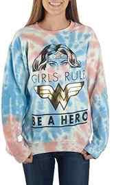 DC Comics: Wonder Woman (Tie Dye) - Long Sleeve Shirt (XL)