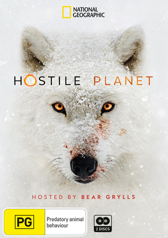 Hostile Planet on DVD