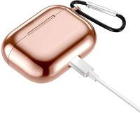 Airpods Pro TPU Shockproof Protective Cover - Rose Gold