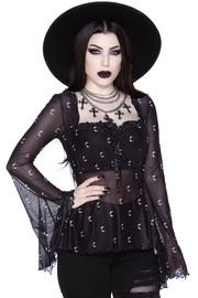 Killstar: Maya Long Sleeve Top - L
