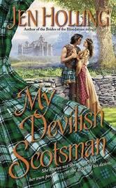 My Devilish Scotsman by Jen Holling image