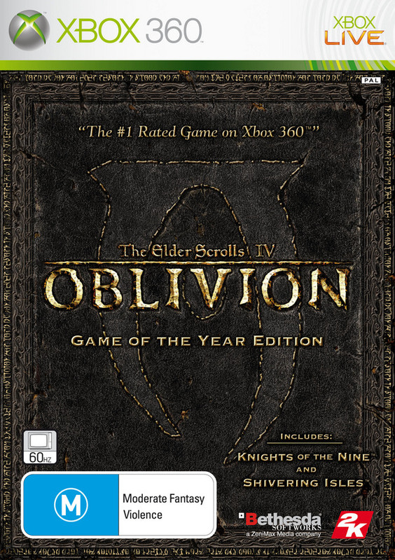 The Elder Scrolls IV: Oblivion Game of the Year Edition for Xbox 360