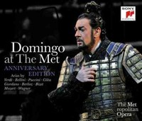 Domingo at The Met Anniversary Edition by Placido Domingo