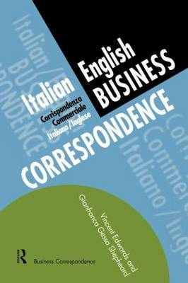 Italian/English Business Correspondence by Vincent Edwards image